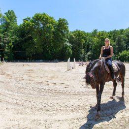Carrière en sable